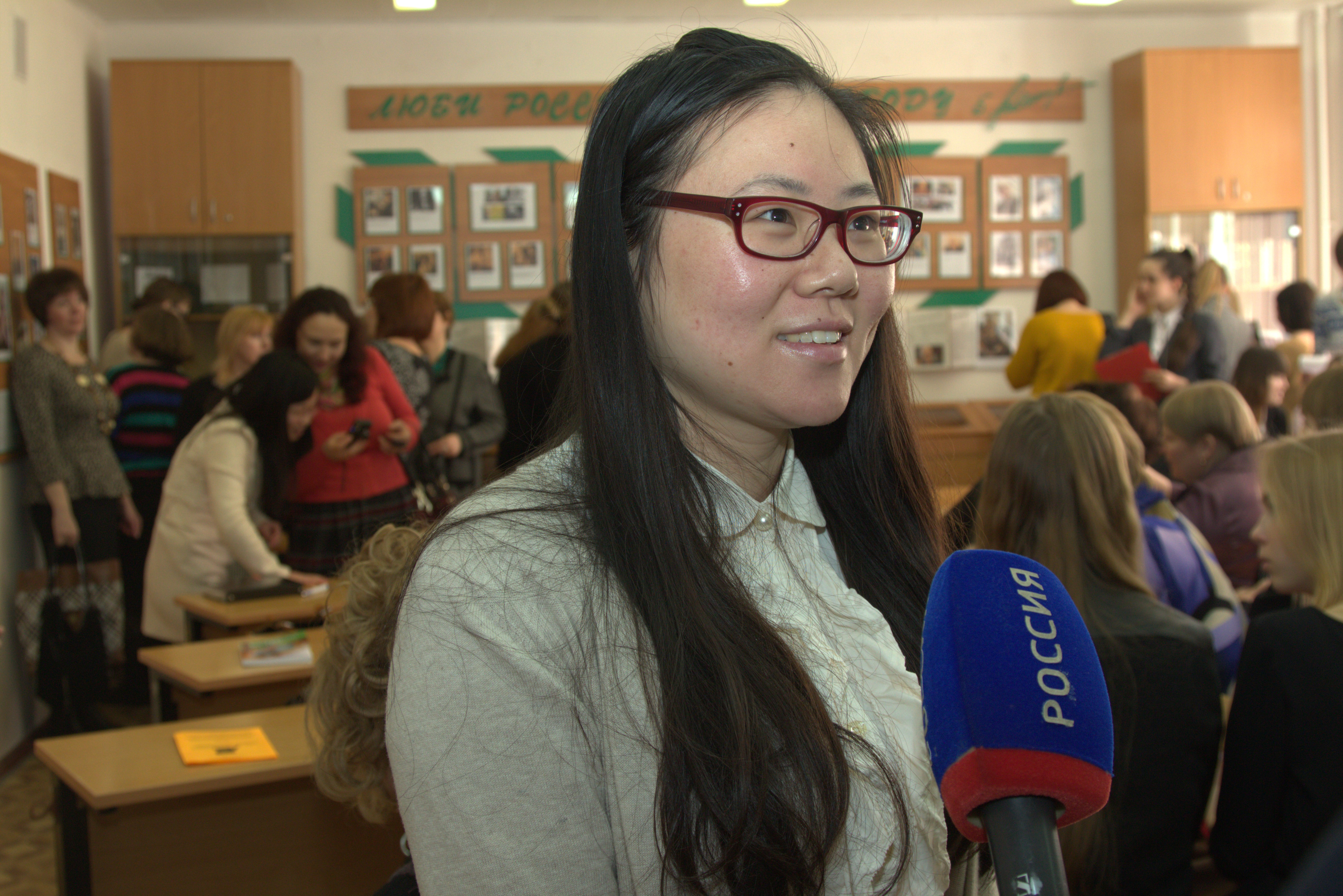 Участница конференции из Китая