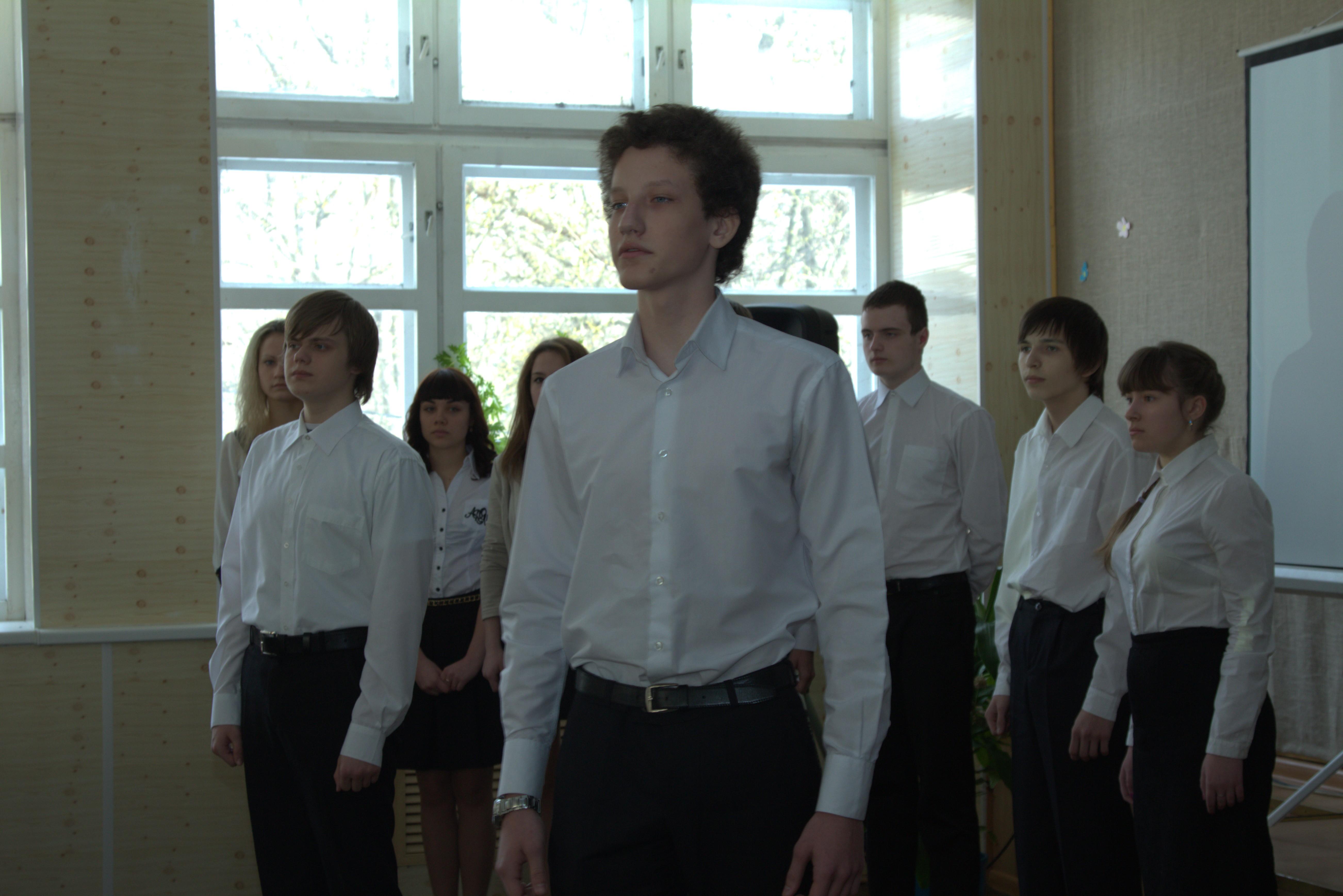 выступление учащихся школы № 17