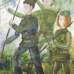 Фролова Ю, ДХШ им. Тенишавой, г. Смоленск