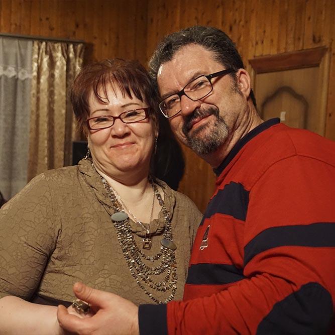 на нашей серебряной свадьбе.Мы прожили 27 лет и 8 месяцев, а знали друг друга 30...